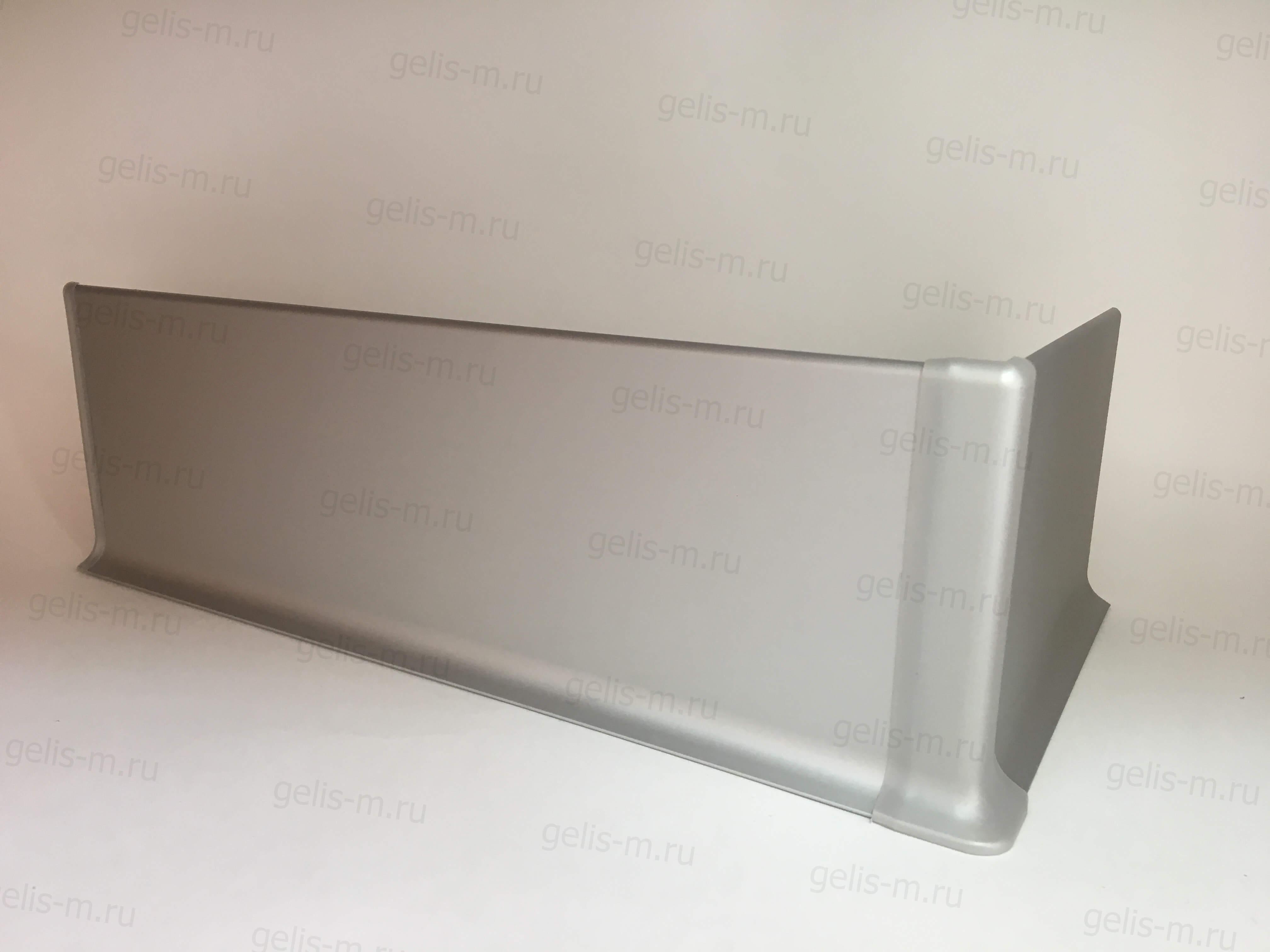 плоский плинтус из алюминия