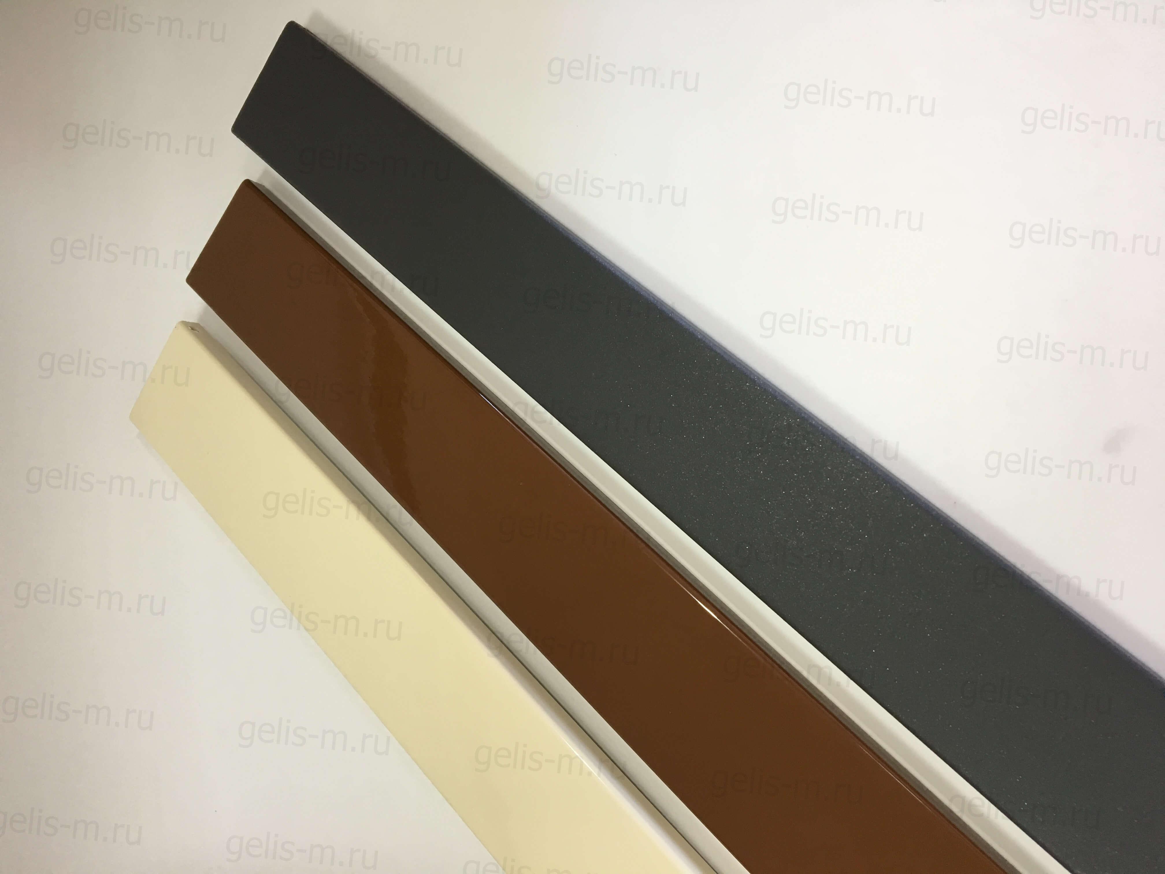 пример покраски алюминиевого наличника